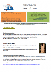 Lakes Hub Bulletin No37
