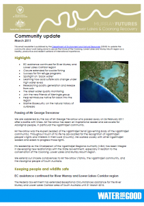 DENR - Community Update