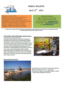 Lakes Hub Bulletin, No43