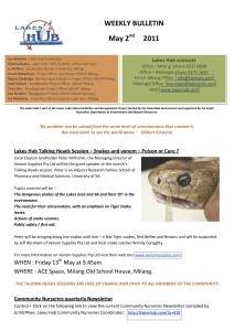 Lakes Hub Bulletin, No46