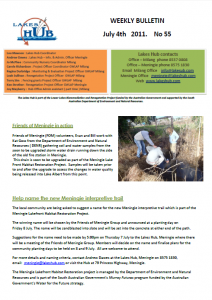 Lakes Hub Bulletin No55
