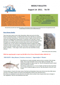 Lakes Hub Bulletin, No59