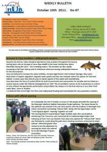 Lakes Hub Bulletin, No67