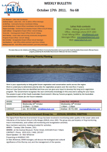 Lakes Hub Bulletin, No68