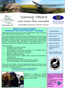 CTLAP 'special edition' newsletter