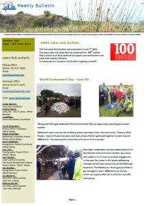 Lakes Hub Bulletin