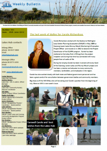 Lakes Hub Bulletin, No 103
