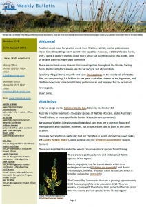 Lakes Hub Bulletin, No112