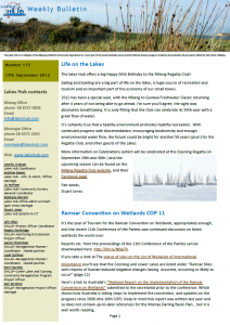 Lakes Hub Bulletin, No 115