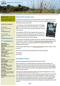 Lakes Hub Bulletin, No 120