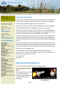 Lakes Hub Bulletin 125