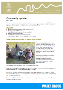 Community Update April 2013