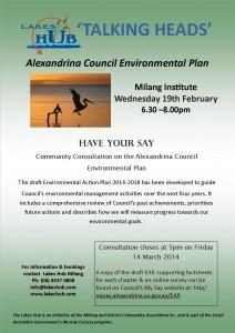Alexandrina Enviro PLan Community Consult - Milang