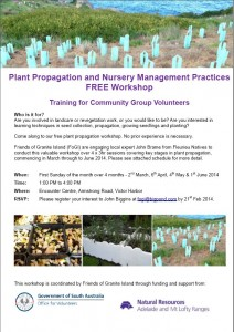 plant propogation workshop
