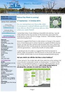 Lakes Hub Bulletin 206